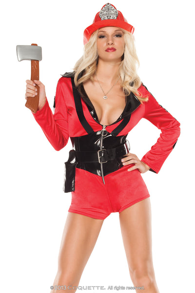 Coquette Foxy Firefighter -  Halloween - Spot of Delight - 1