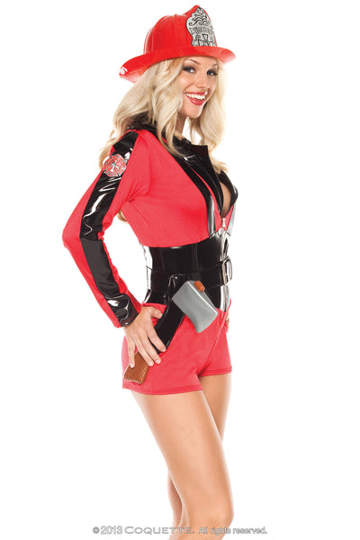 Coquette Foxy Firefighter -  Halloween - Spot of Delight - 2