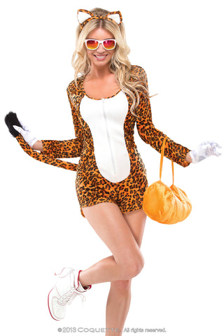 Coquette Cheeky Cheetah -  Halloween - Spot of Delight - 1