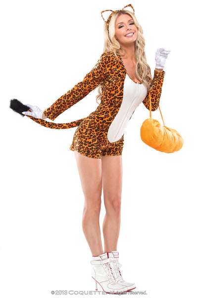 Coquette Cheeky Cheetah -  Halloween - Spot of Delight - 4