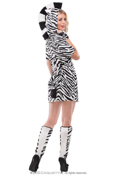 Coquette Zesty Zebra -  Halloween - Spot of Delight - 3