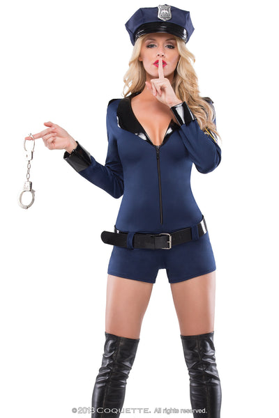 Coquette Cop Cutie -  Halloween - Spot of Delight - 1