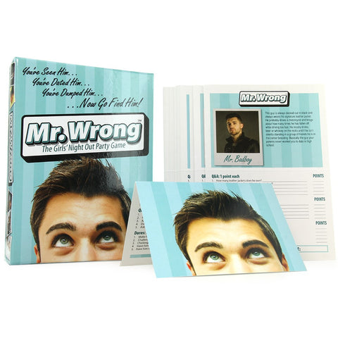 Mr.Wrong Party Game