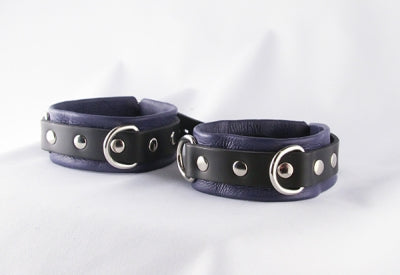 Prince Leather Ankle Cuffs