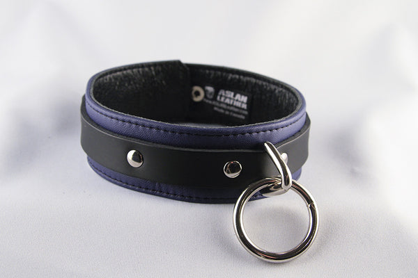 Aslan Leather Purple Jaguar Leather Collar -  Collars - Spot of Delight - 2