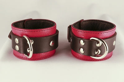 Red Jaguar Ankle Cuffs