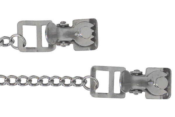 Spartacus Teeth Tip Adjustable Nipple Clamps -  Clamps - Spot of Delight - 1