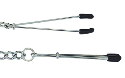 Spartacus Tweezer Tip Adjustable Nipple Clamps -  Clamps - Spot of Delight - 1
