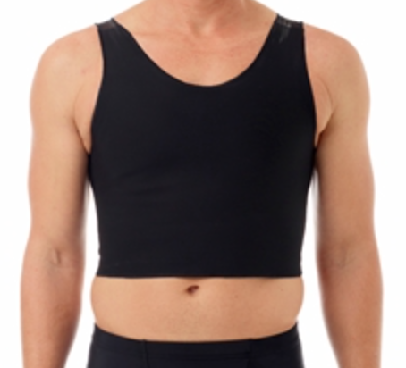 Underworks Tri-Top Chest Binder - Black / 2X Binders - Spot of Delight - 13