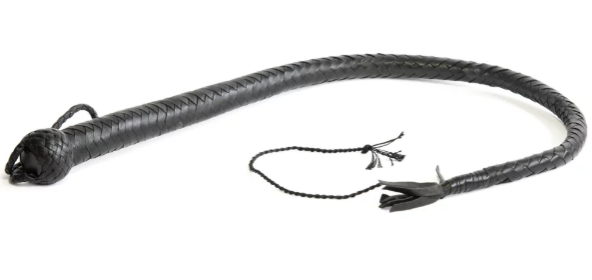 Single Tail Whip - Professional - Black