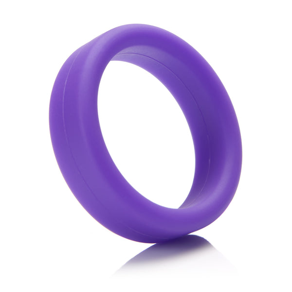 Tantus Super Soft C Ring - Purple Cock Rings - Spot of Delight - 3
