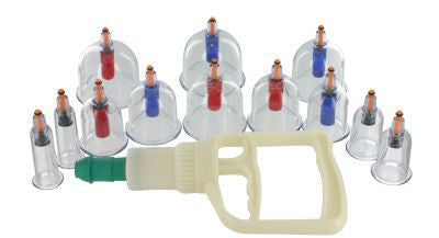 XR Brands Master Series SukShen 12 Piece Cupping System -  Pumps - Spot of Delight - 3