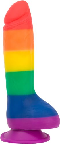 "Addiction Rainbow 5.75"" Dildo"