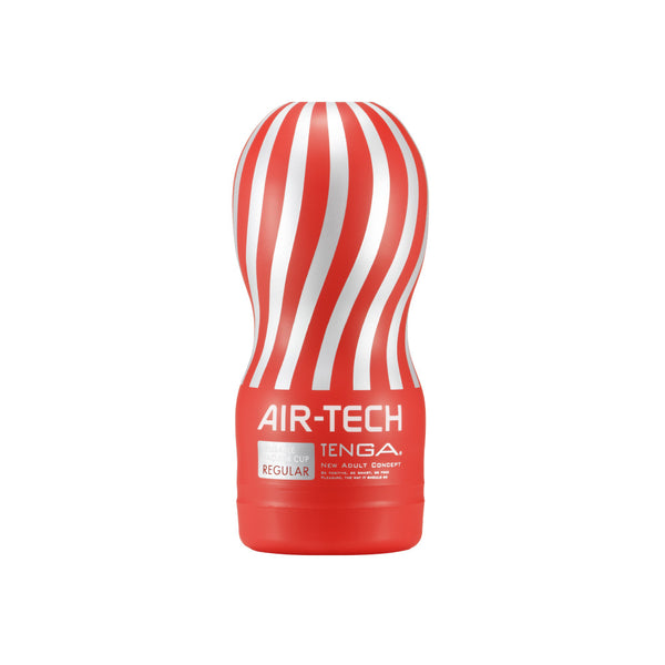 Tenga Reusable Air Tech Cup - Red- Regular Male Strokers - Spot of Delight - 3