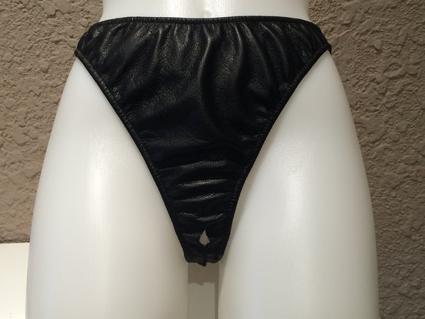 Northbound Leather Leather Crotchless Panty -  Leather Outfits - Spot of Delight - 1