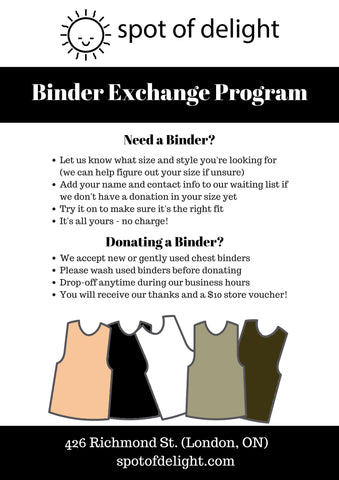 Binder Exchange