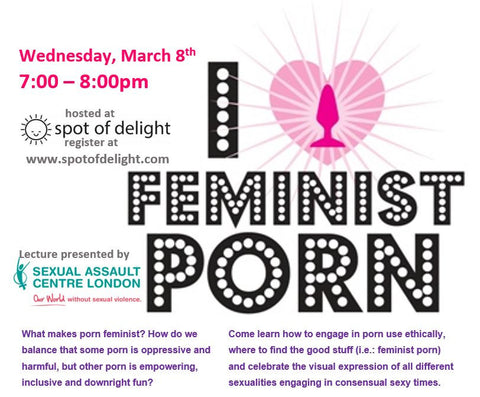 Feminist Porn Lecture -March 8th