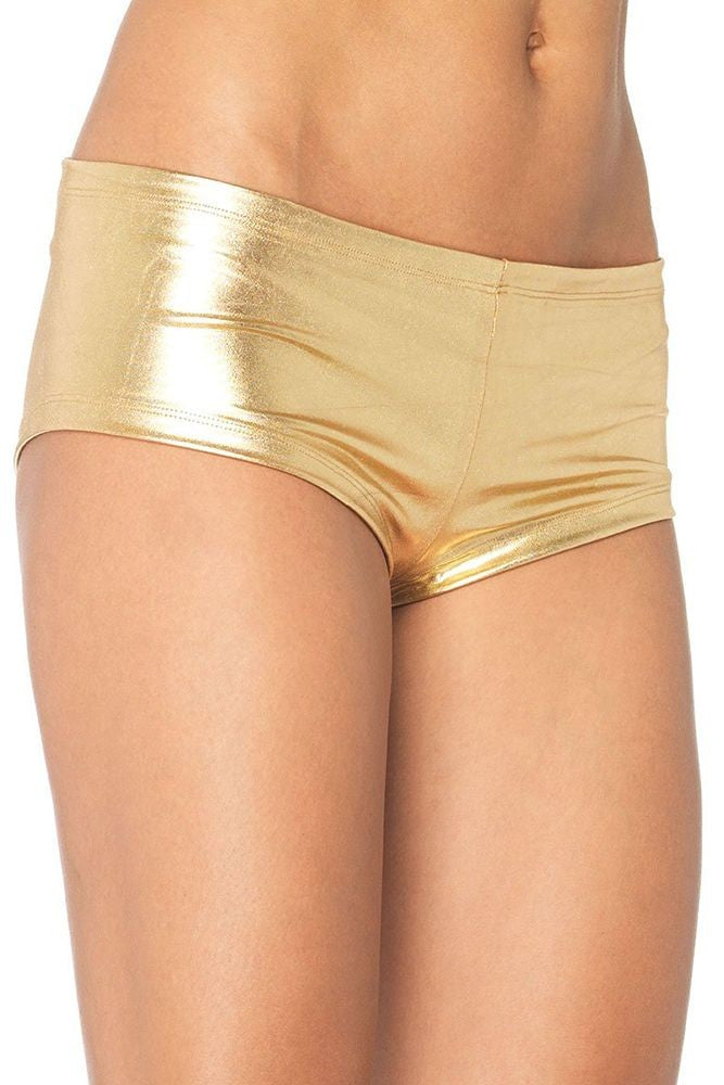 Gold Booty Shorts