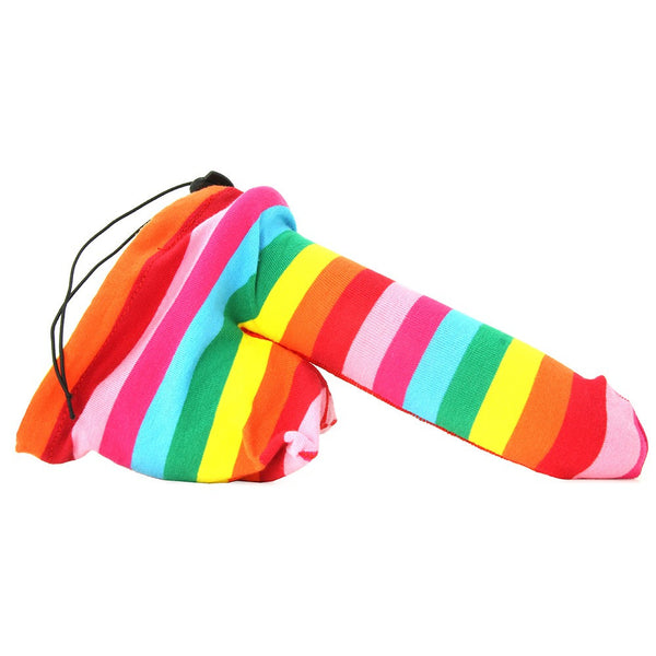 Hott Products Rainbow Pecker Huggie Cock Sock -  Novelty - Spot of Delight - 2