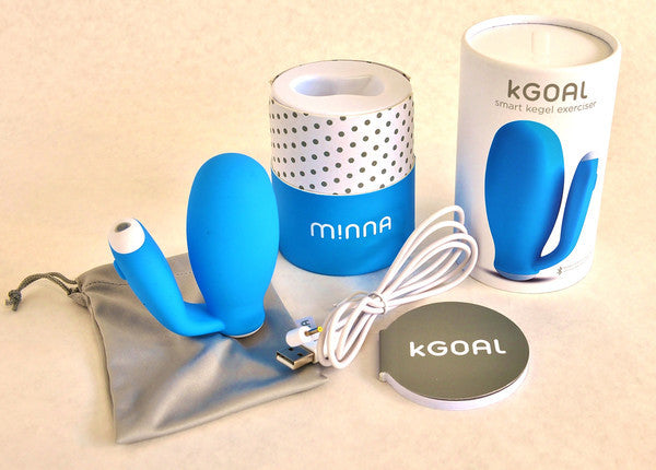 Minna KGOAL Bluetooth Pelvic Floor Rehabilitator -  Kegel Trainers - Spot of Delight - 4