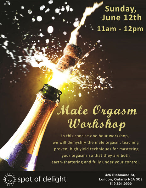 Spot of Delight Prostate Play + Male Orgasm Combo Workshop -  Workshops - Spot of Delight - 3
