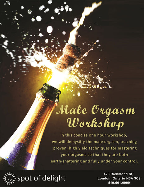 Spot of Delight Male Orgasm Workshop -  Workshops - Spot of Delight - 1