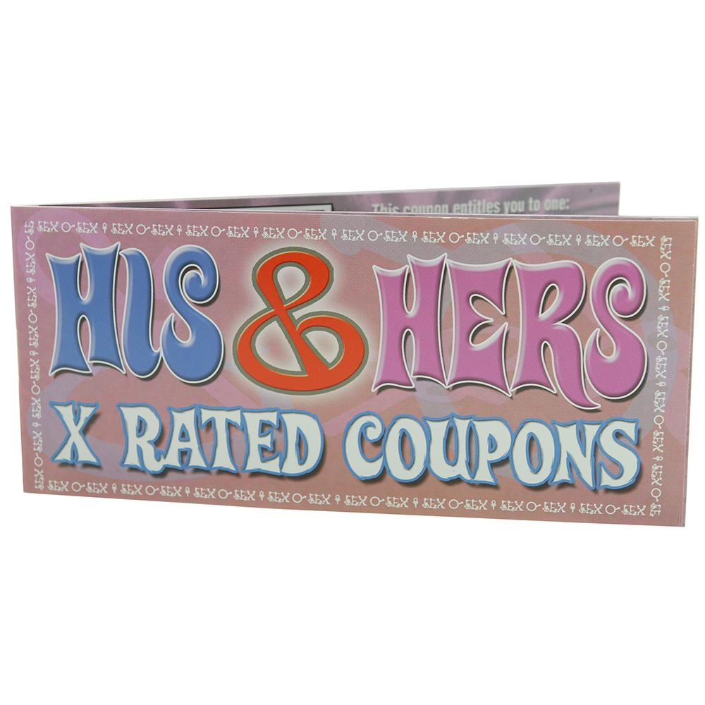 His & Her X Rated Coupons