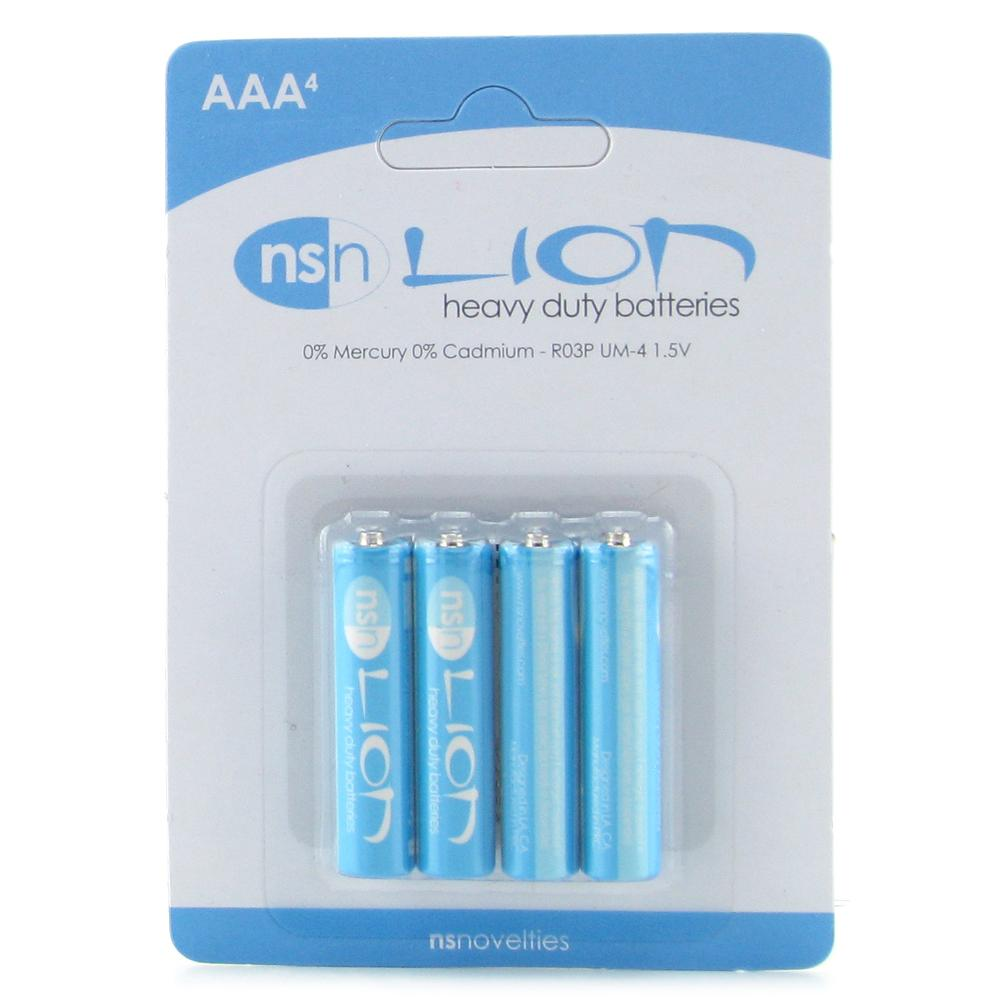 Lion Heavy Duty AAA Batteries