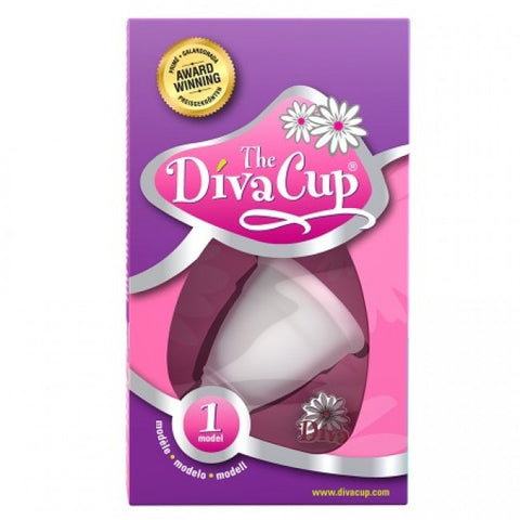 Lunapads Diva Cup - Small (Size 1) Menstrual Products - Spot of Delight - 1