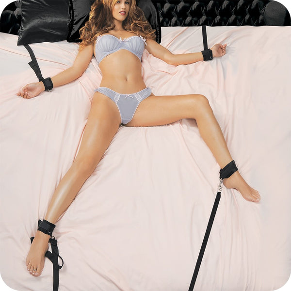 Sportsheets Under the Bed Restraint Set -  Sex Position Aids - Spot of Delight - 1