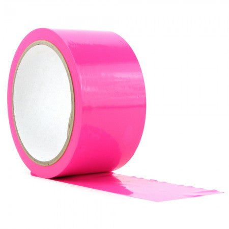 Pipedream Neon Pleasure Tape - Pink Bondage Tape - Spot of Delight - 1