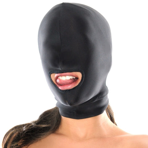 Spandex Open Mouth Hood