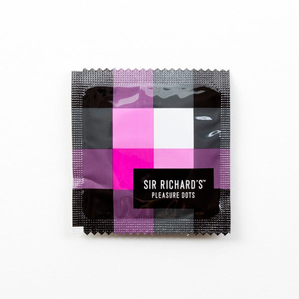 Sir Richard's Pleasure Dots -  Condoms - Spot of Delight - 6