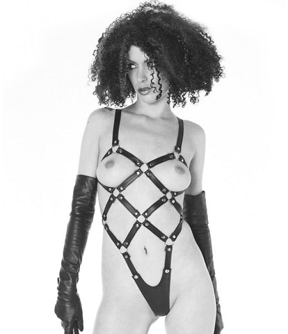 Northbound Leather Leather Body Harness -  Leather Outfits - Spot of Delight