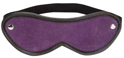 Purple Suede Blindfold
