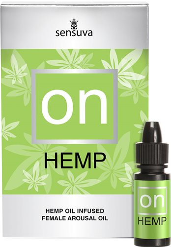 ON Hemp Oil Infused Arousal Oil