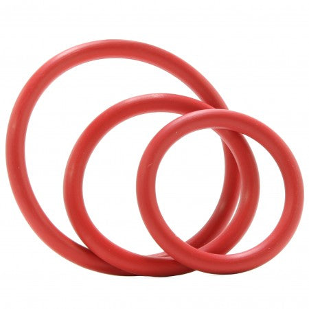 Nitrile C-Ring Set in Red
