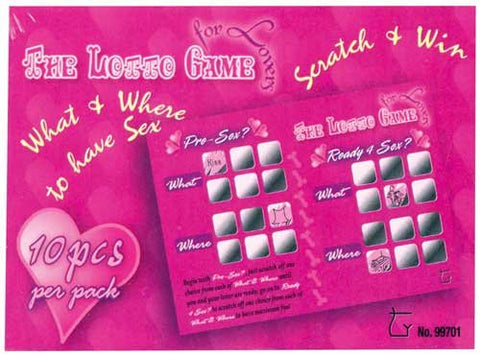 The Lotto Game For Lovers