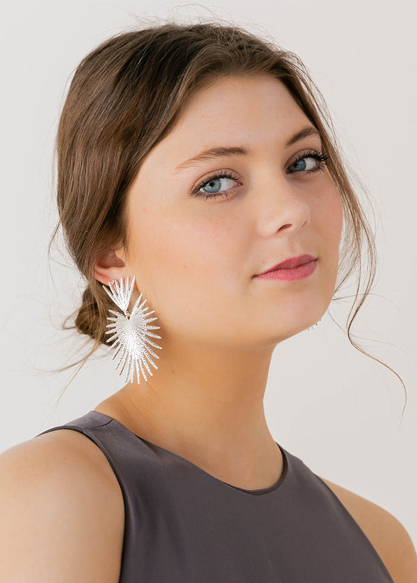 Palm Earrings
