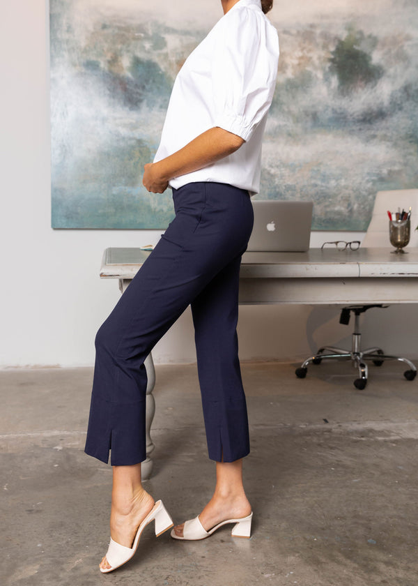 DYLAN FLARED PANT NAVY