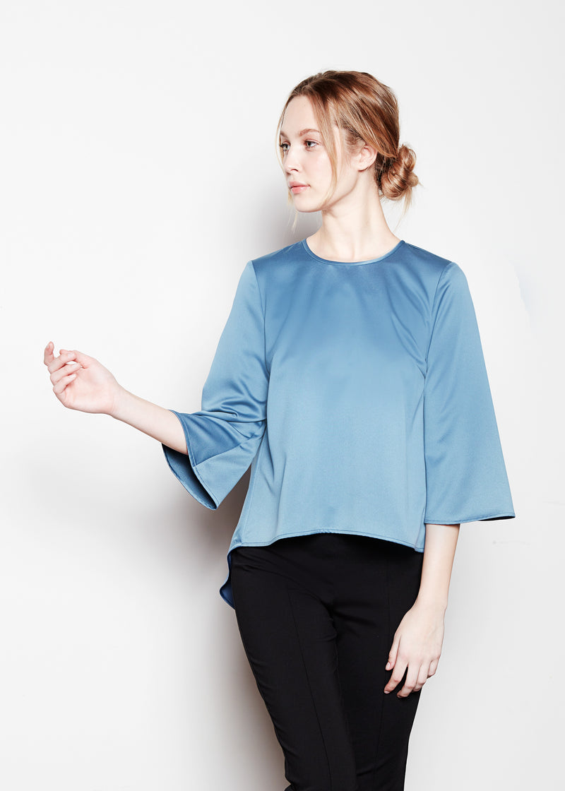 ADELINE TOP - MARLIN LUXE SATIN
