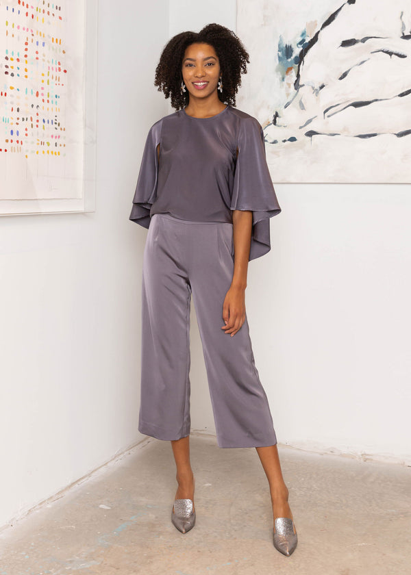 GRACE WIDE-LEG CULOTTES
