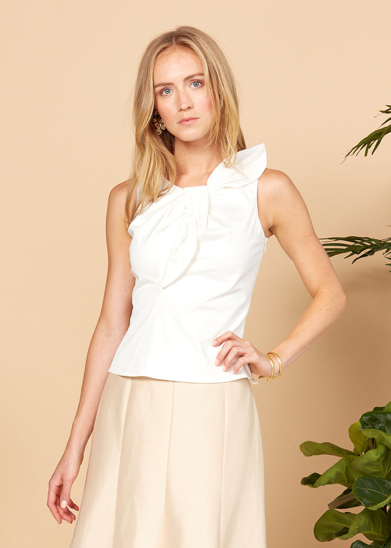 CELINE TOP - WHITE