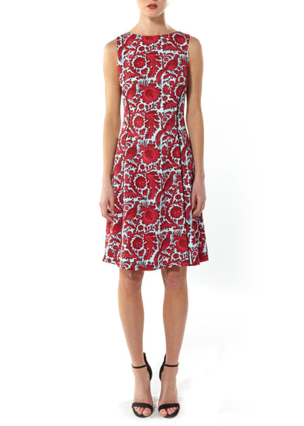 GLENDA DRESS - FRENCH PAISLEY