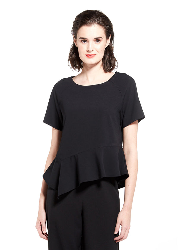 INGRID TOP - BLACK