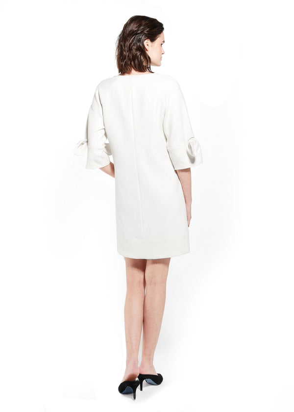 MORGAN DRESS - WINTER WHITE