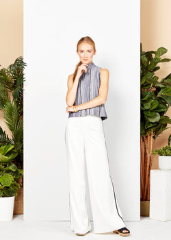 CARTER TROUSER - WHITE