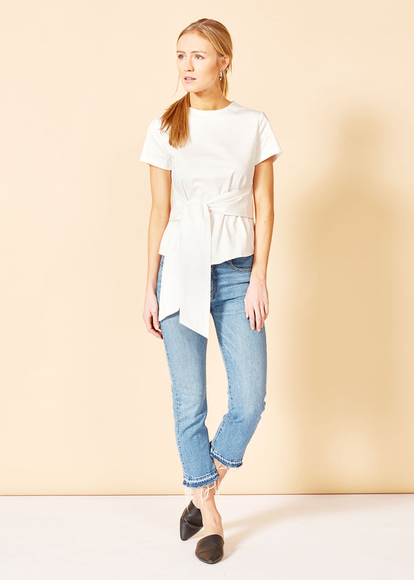 CARDIN TOP - WHITE