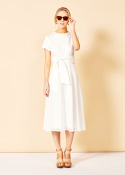 CATE SKIRT - WHITE