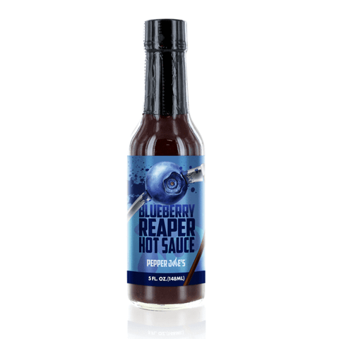 pepper joe's blueberry hot sauce